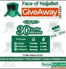 #FaceOfNaijaBet #NaijaBetGiveAway