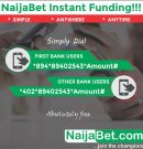 FIRSTBANK, mCASH PARTNERS WITH NAIJABET ON INSTANT SETTLEMENT OF FUNDS USING UNIQUE USSD CODES