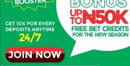 NaijaBet yafun yafun Season Booster Bonus
