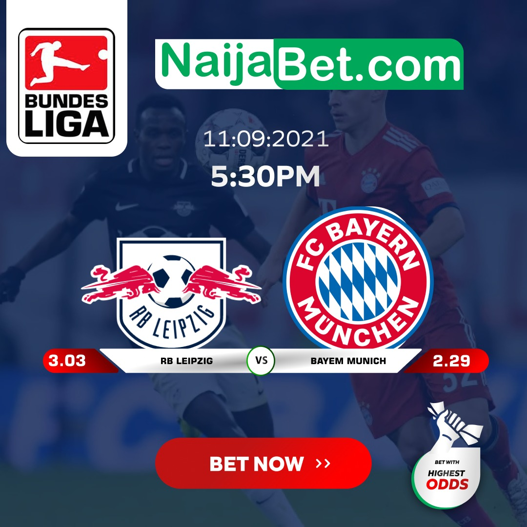 Watch: Match Preview: RB Leipzig vs Bayern on 11/9/2021